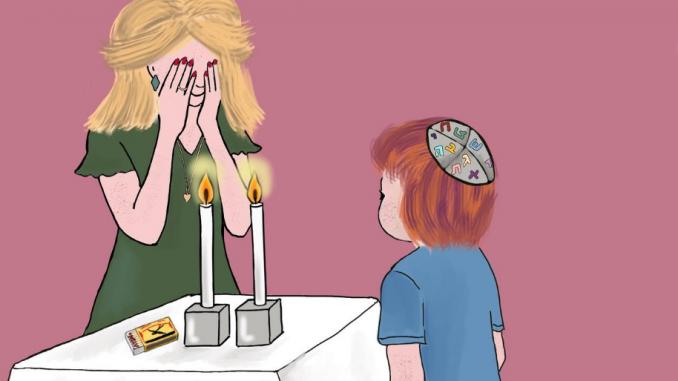 beelden uit Judaism in een box