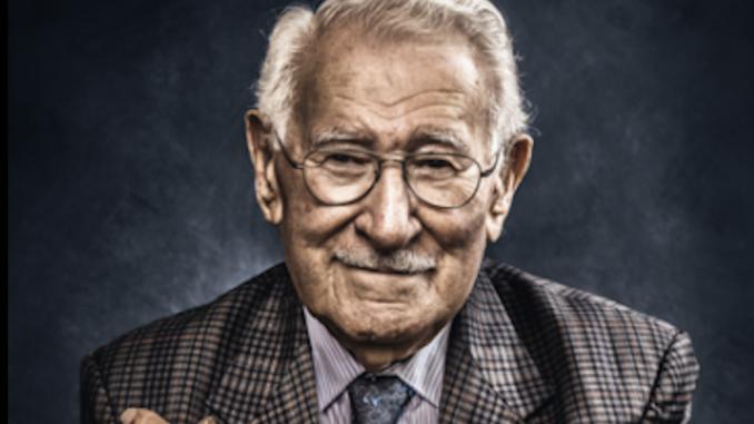 portret Eddie Jaku