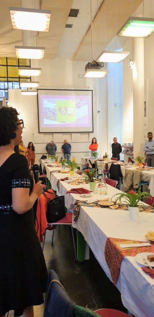 Mercedes Zandwijken vertelt over Keti Koti Tafel
