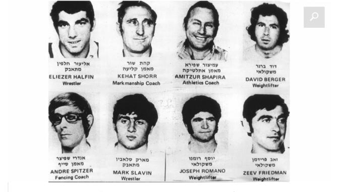 acht vermoorde Israeli in Munchen