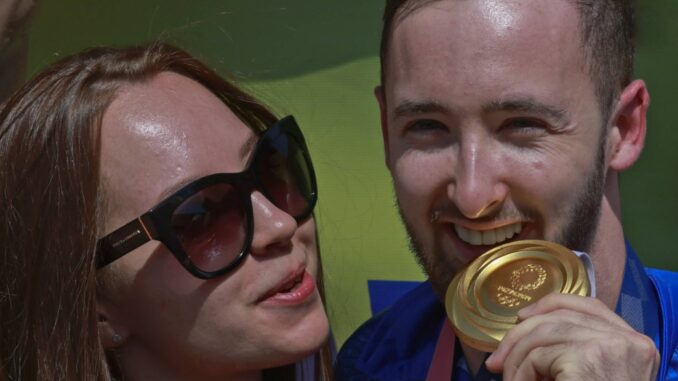 Artem Dolgopyat met gouden medaille
