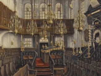 vooroorlogse synagoge Boompjes te Rotterdam