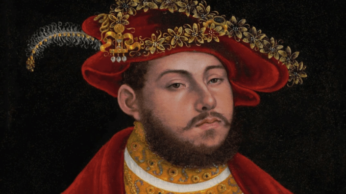 portret van John Frederik I, uit de Gutmann collectie